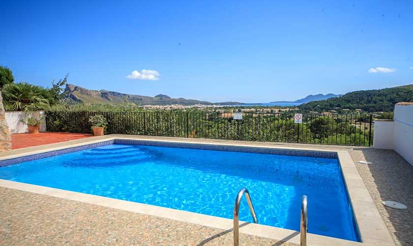 Poolblick Villa Mallorca Norden PM 3516