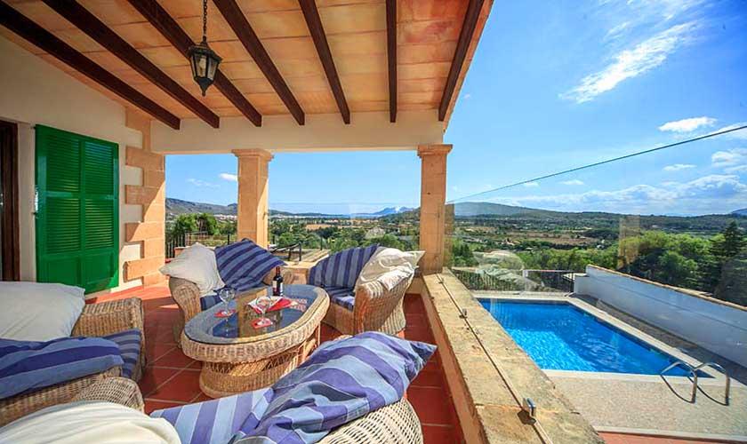 Terrasse Villa Mallorca Norden PM 3516