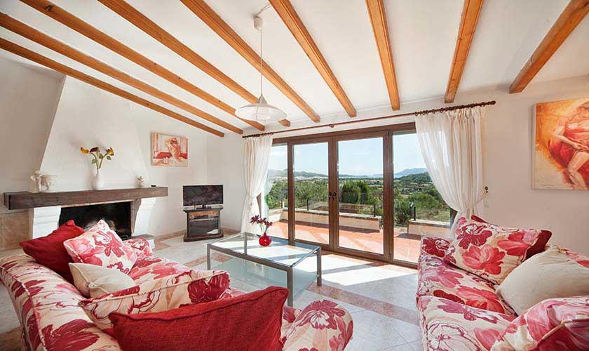 Wohnraum Villa Mallorca Norden PM 3516
