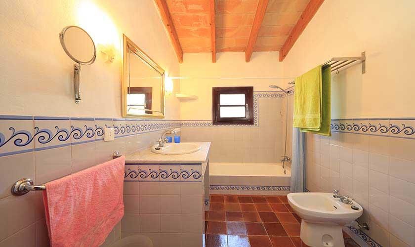 Badezimmer Finca Mallorca 4 Personen PM 3517