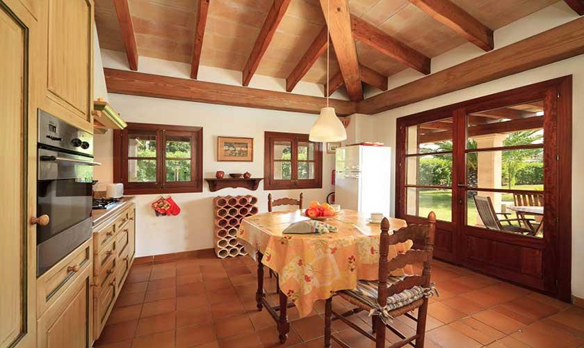 Küche Finca Mallorca 4 Personen PM 3517