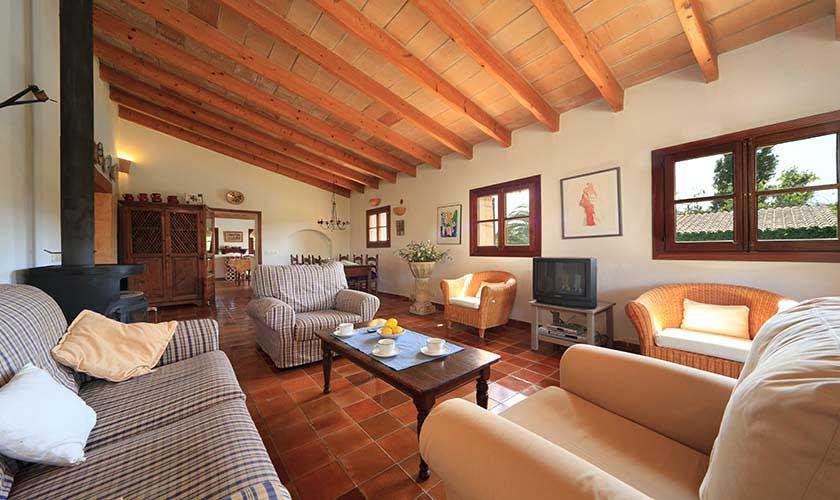 Wohnraum Finca Mallorca 4 Personen PM 3517