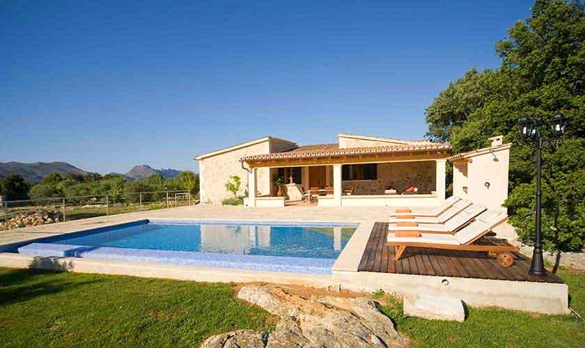 Pool und Finca Mallorca für 4 Personen PM 3518