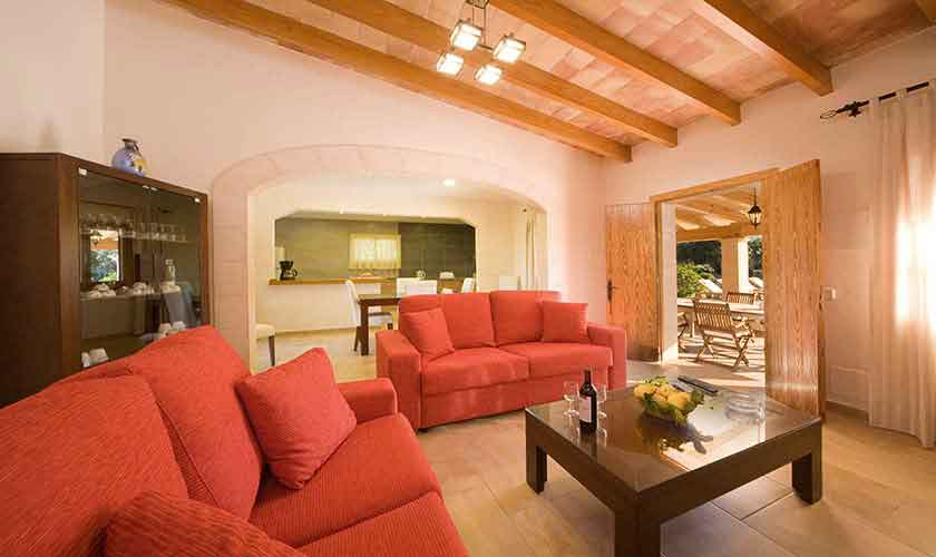 Wohnraum Finca Mallorca für 4 Personen PM 3518