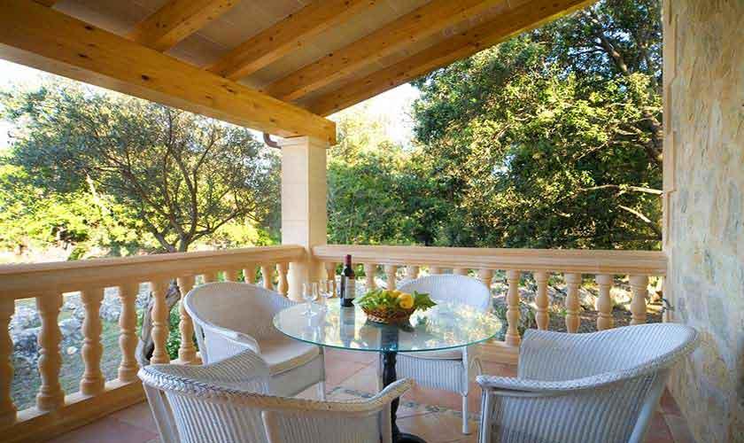 Terrasse Finca Mallorca für 4 Personen PM 3518