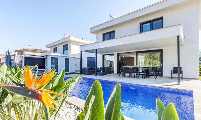 Pool und Ferienvilla Mallorca Nordküste PM 3519