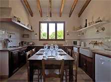 Küche Finca Mallorca Norden PM 357