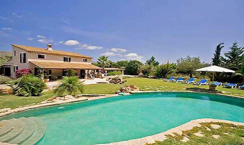 Pool und Finca Mallorca Norden PM 357