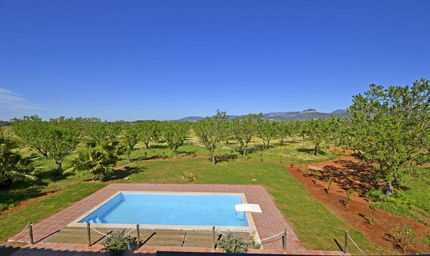 Poolblick Finca Mallorca PM 3707