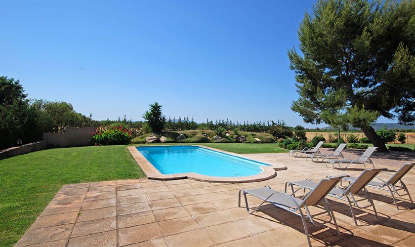 Garten und Terrasse Poolfinca Mallorca PM 3708