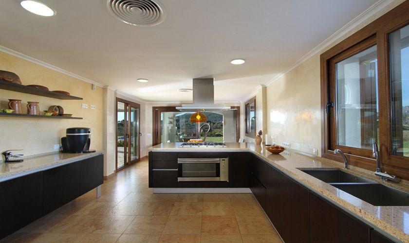 Küche Ferienvilla  Mallorca Norden PM 370