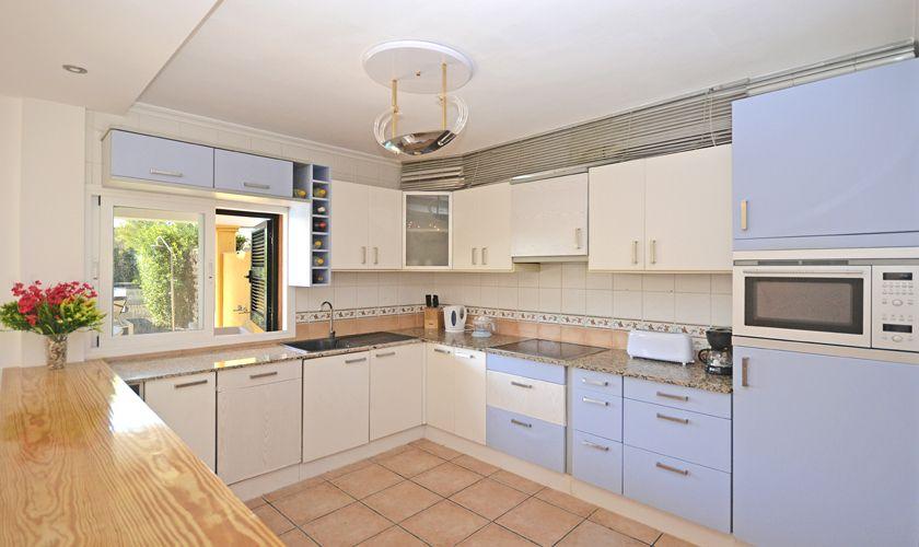 Küche Ferienhaus Mallorca Nordküste PM 3714