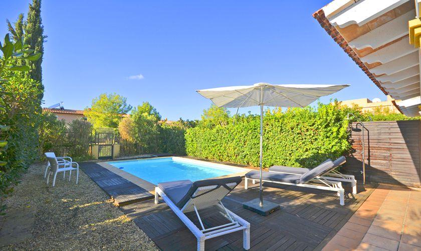 Poolblick Ferienhaus Mallorca Nordküste PM 3714