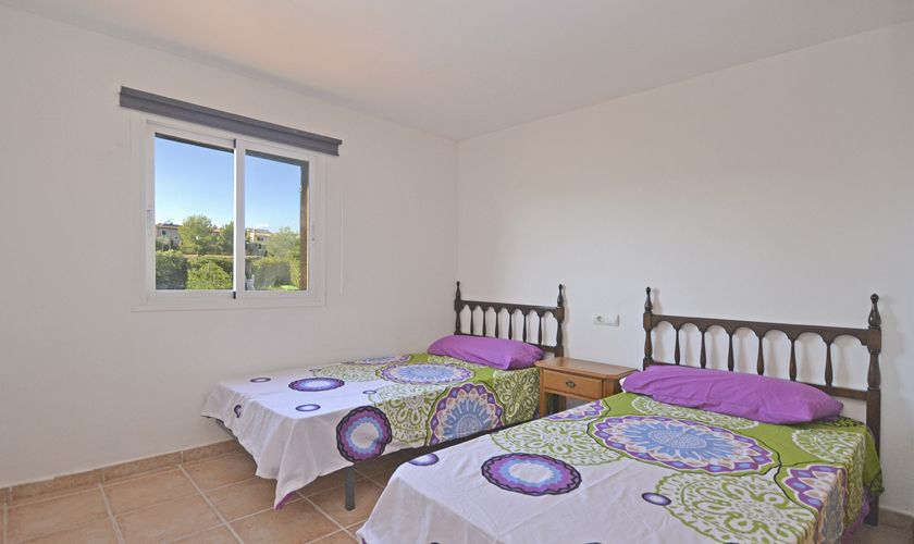 Schlafzimmer Ferienhaus Mallorca Nordküste PM 3714