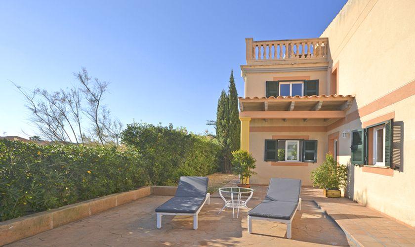 Terrasse Ferienhaus Mallorca Nordküste PM 3714
