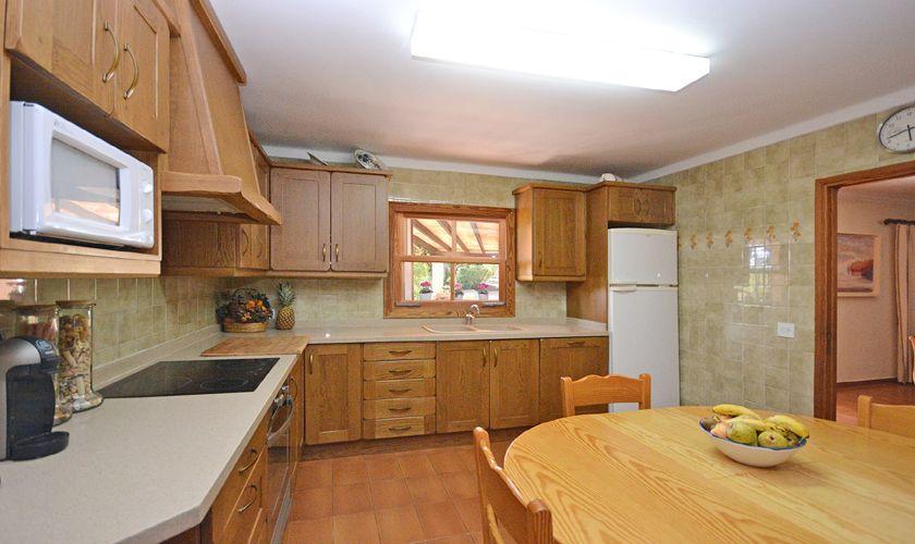 Küche Ferienfinca Mallorca PM 3716