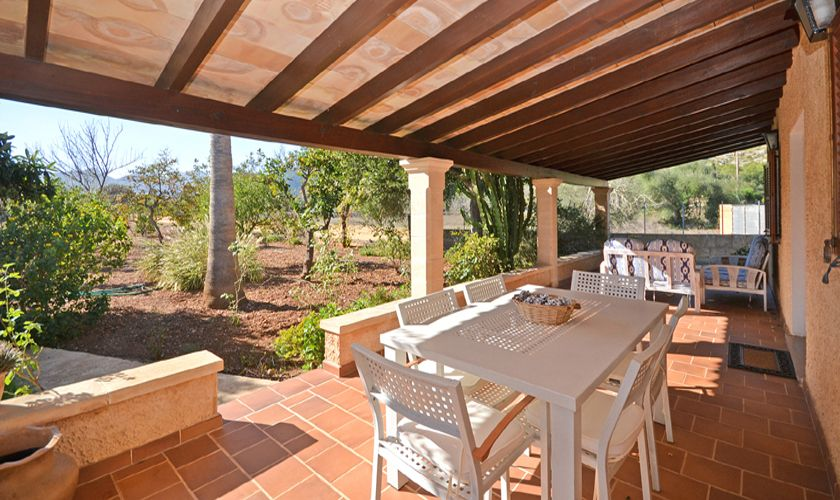 Terrasse Ferienfinca Mallorca PM 3716