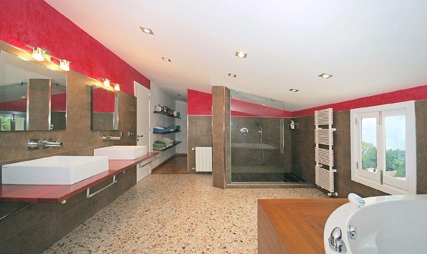 Badezimmer Ferienhaus Mallorca für 8 Personen PM 3717