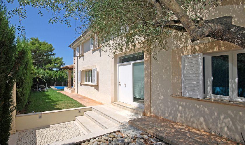 Blick auf das Ferienhaus Mallorca PM 3717