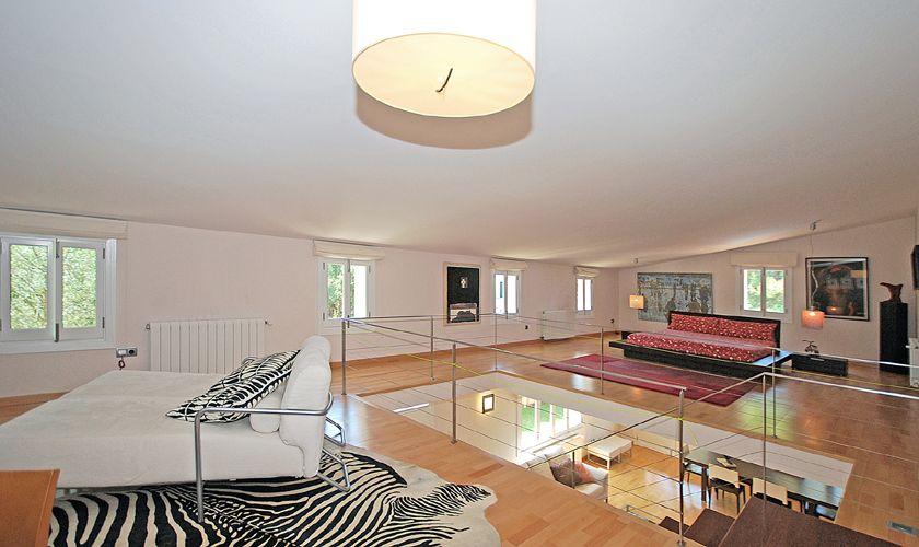 Galerie und Schlafzimmer Ferienhaus Mallorca für 8 Personen PM 3717