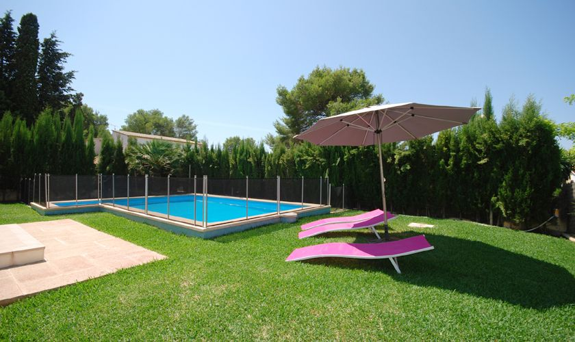 Poolblick Ferienhaus Mallorca PM 3717