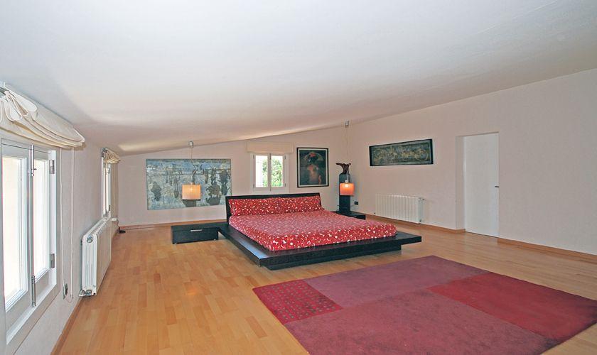 Offenes Schlafzimmer Ferienhaus Mallorca für 8 Personen PM 3717