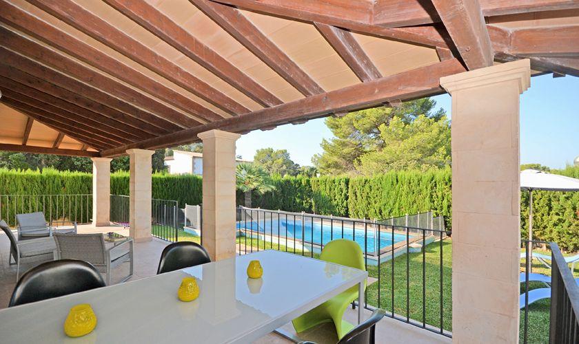 Terrasse Ferienhaus Mallorca PM 3717
