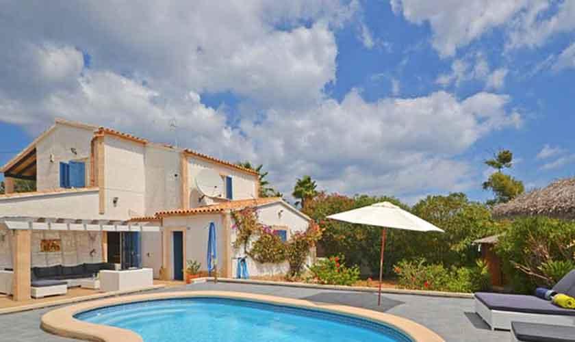 Pool und Ferienhaus Mallorca Nordküste PM 3720