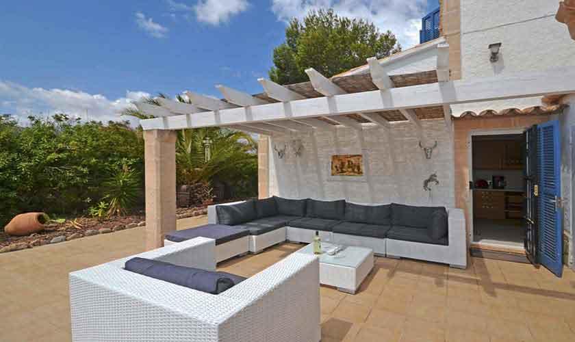 Terrasse Ferienhaus Mallorca 8 Personen PM 3720