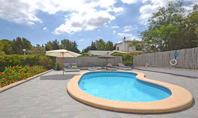 Poolblick Ferienhaus Mallorca 8 Personen PM 3720