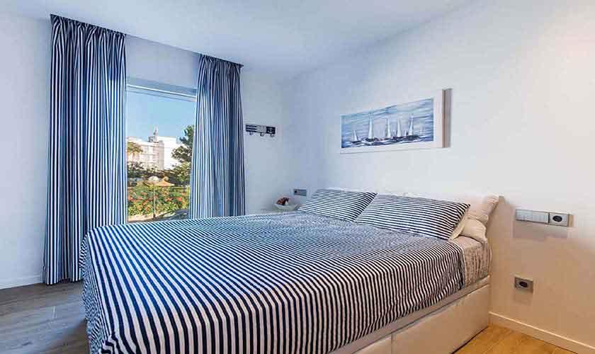 Schlafzimmer Ferienwohnung Mallorca Nordküste PM 3721