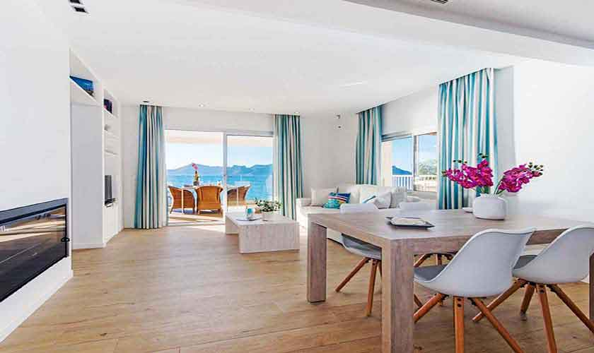 Wohnraum Ferienwohnung Mallorca Nordküste PM 3721
