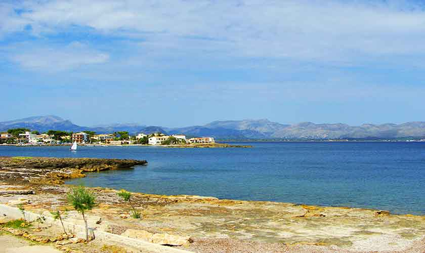 Blick auf die Küste Appartement Mallorca  PM 3721