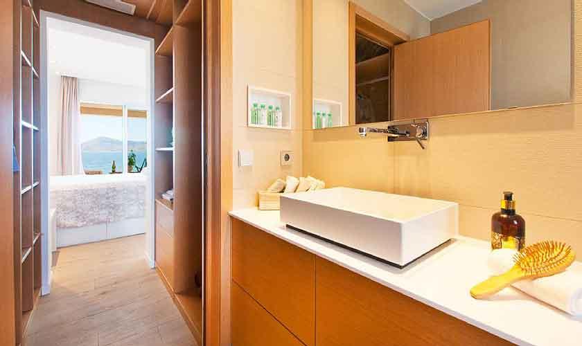 Badezimmer Appartement Mallorca Nordküste PM 3721