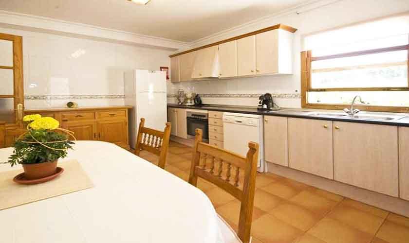 Küche Finca Mallorca Norden PM 3725