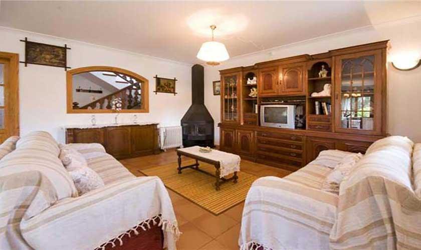 Wohnraum Finca Mallorca Norden PM 3725