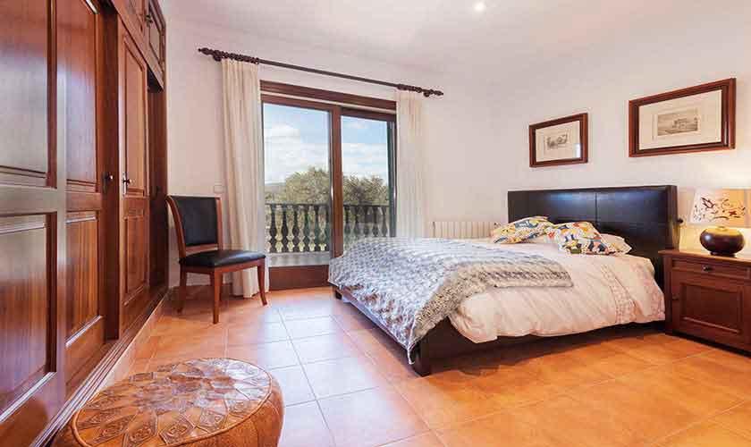 Schlafzimmer Finca Mallorca Norden PM 3726