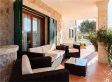 Terrasse Finca Mallorca 10 Personen PM 3726