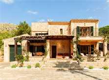 Blick auf die Finca Mallorca für 8 - 10 Personen PM 3727