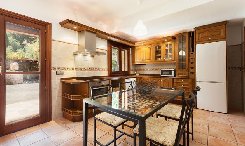 Küche Finca Mallorca Norden für 8 - 10 Personen PM 3727