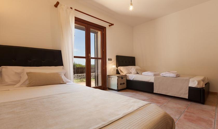 Schlafzimmer Finca Mallorca Norden für 8 - 10 Personen PM 3727