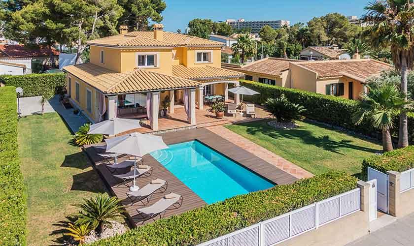 Pool und Ferienvilla Mallorca Norden PM 3741