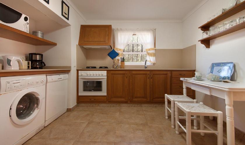 Küche Finca Mallorca mit Pool PM 3744