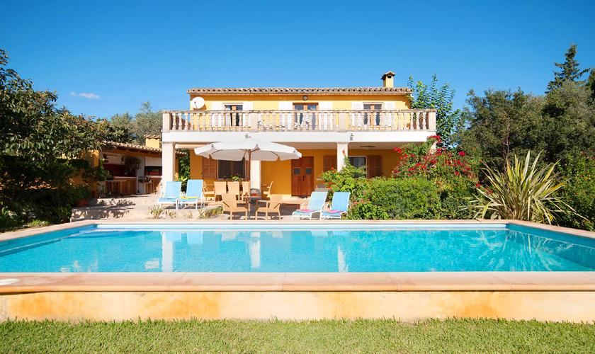 Pool und Finca Mallorca mit Pool PM 3744