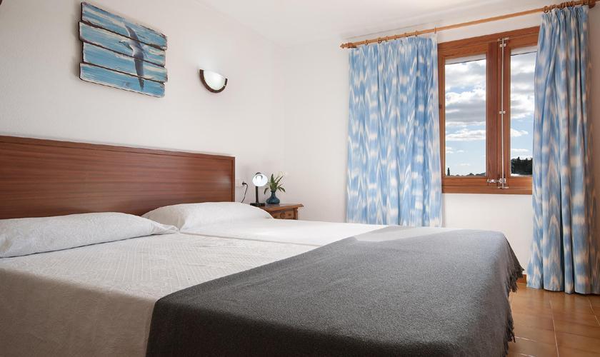 Schlafzimmer Finca Mallorca mit Pool PM 3744