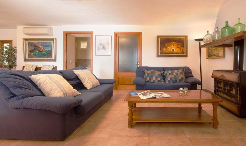 Wohnraum Finca Mallorca mit Pool PM 3744