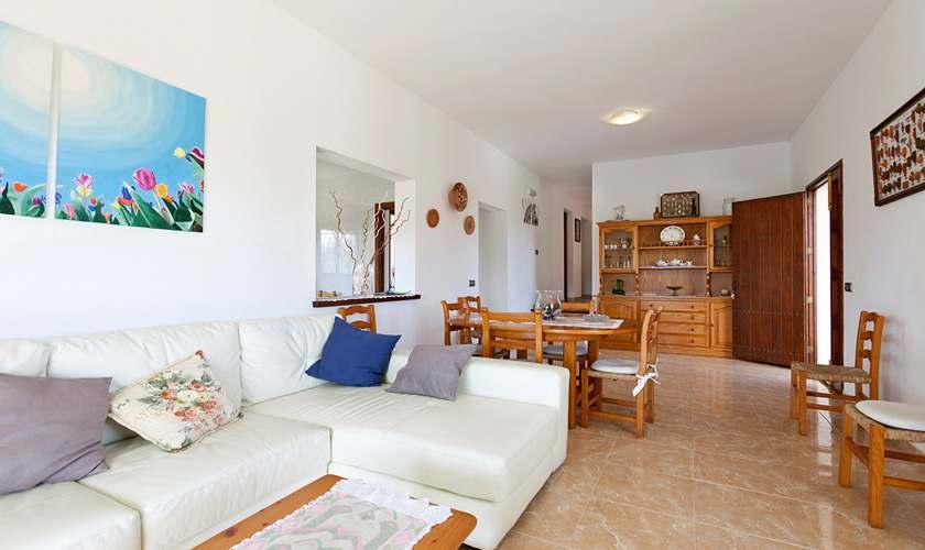 Wohnraum Ferienhaus Mallorca 6 Personen PM 3419