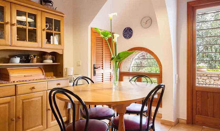 Küche Ferienfinca Mallorca Norden PM 3750