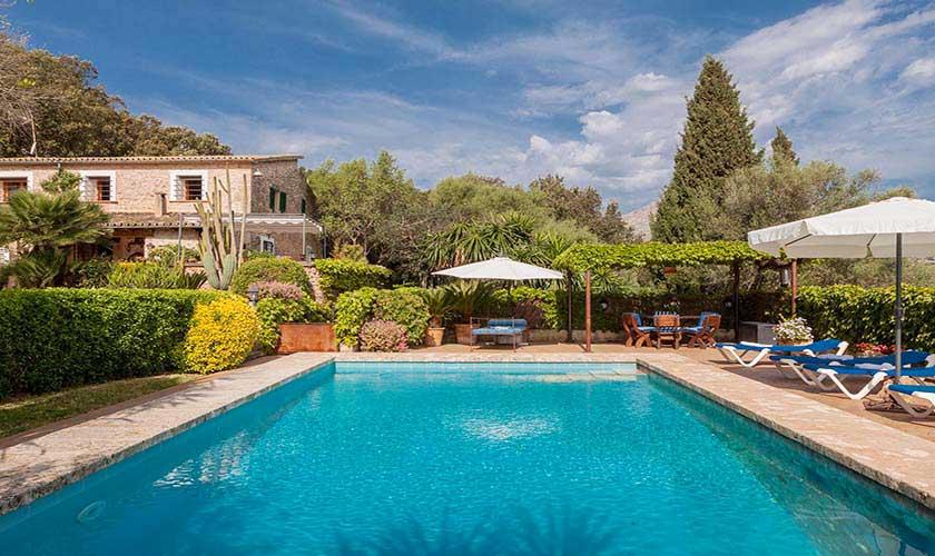 Pool und Finca Mallorca Norden PM 3750