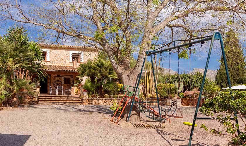 Kinderspielplatz Finca Mallorca Norden PM 3750